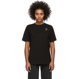 MCQ by Alexander McQueen Black Shizoku Boyfriend T-Shirt 596984ROJ29