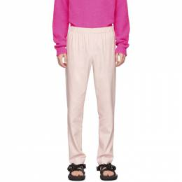 Tibi SSENSE Exclusive Pink Pull On Trousers R219LV3168