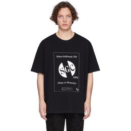 Stolen Girlfriends Club Black SGC Live T-Shirt C4-19T001BB