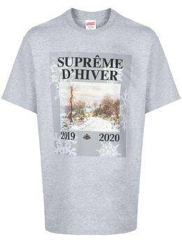 Supreme футболка с принтом SU8434