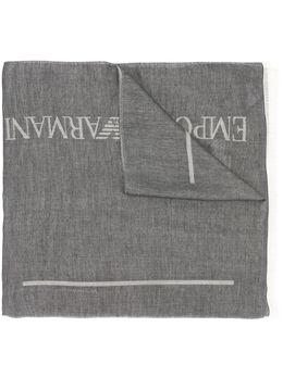Emporio Armani шарф с логотипом 6252590P366