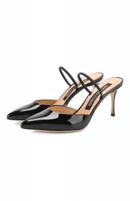 Лаковые туфли Godiva Sergio Rossi A73273-MVIV01