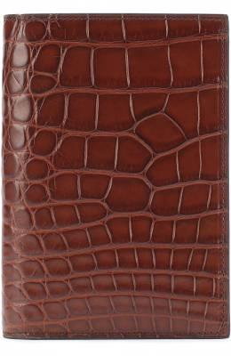 Обложка из кожи аллигатора Brioni 0HAP/06720