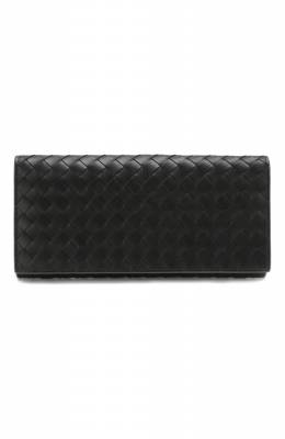 Кожаное портмоне Bottega Veneta 120697/V465U