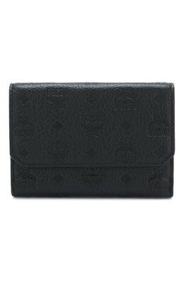 Кожаный кошелек с подвеской MCM MYM 8AKM01