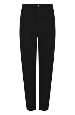 Однотонные укороченные брюки из хлопка Golden Goose Deluxe Brand G33WP002.A3