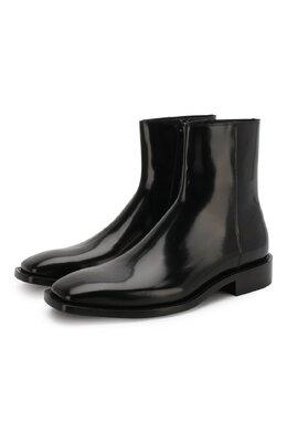 Кожаные сапоги Balenciaga 558454/WA7B0