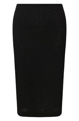 Юбка из смеси шерсти и вискозы St. John K71Y001