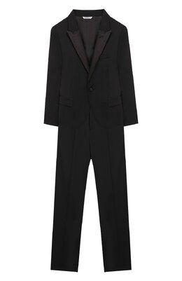 Шерстяной костюм из пиджака и брюк Dolce&Gabbana L41U49/FUBBG/2-6