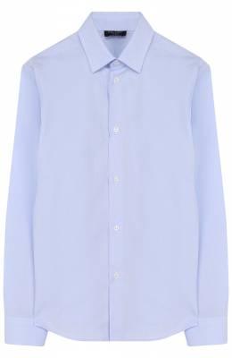 Хлопковая рубашка с воротником кент Dal Lago N402/7628/4-6