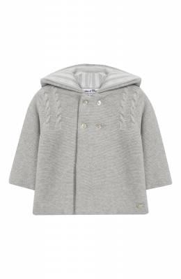 Хлопковая куртка с капюшоном Tartine Et Chocolat TN44011