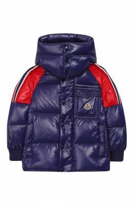Пуховая куртка с капюшоном Moncler Enfant E2-954-41314-05-68950/8-10A