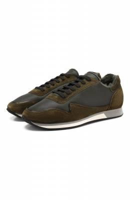 Кожаные кроссовки Aldo Brue ABS25H-YNP