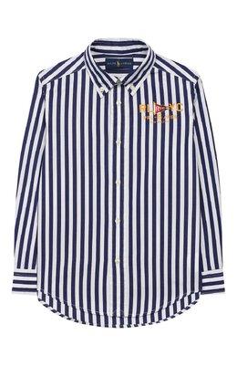 Хлопковая рубашка Ralph Lauren 322737262