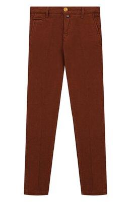 Хлопковые брюки Jacob Cohen B0BBY J-10004