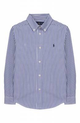 Хлопковая рубашка Ralph Lauren 322750006