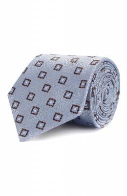 Шелковый галстук Canali 18/HJ02077