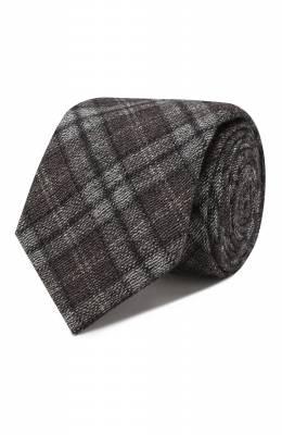 Шерстяной галстук Brioni 061D00/08488