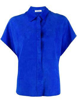 P.a.r.o.s.h. фактурная рубашка со вставками D380541Masuede