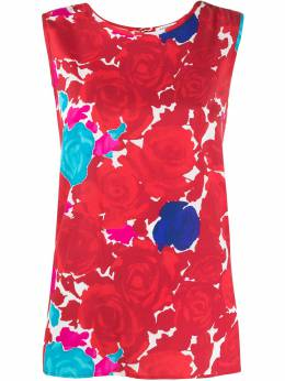 P.a.r.o.s.h. блузка с цветочным принтом D310439Sotty