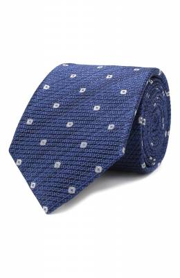 Шелковый галстук Canali 18/HJ02075