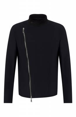 Куртка на косой молнии Giorgio Armani 9SG0B01D/J0008