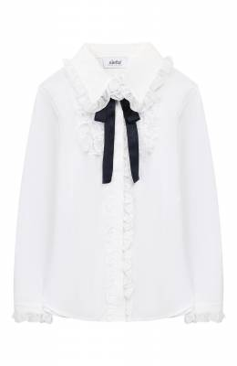 Хлопковая блузка Aletta AC999301ML/4A-8A