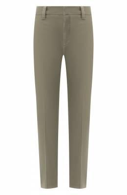 Хлопковые брюки Brunello Cucinelli M0W14P5398