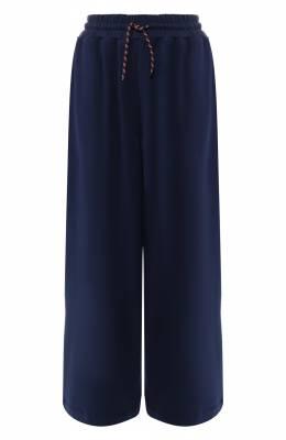 Хлопковые брюки Dries Van Noten 191-11115-7617