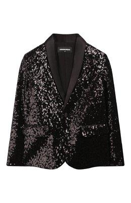 Пиджак с пайетками Dsquared2 DQ027J-D00ME