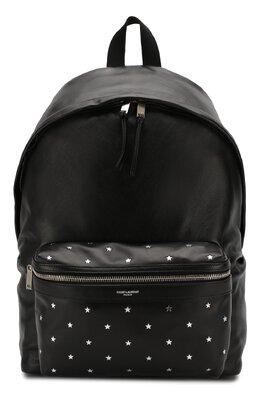 Кожаный рюкзак City Saint Laurent 534967/CWTEF