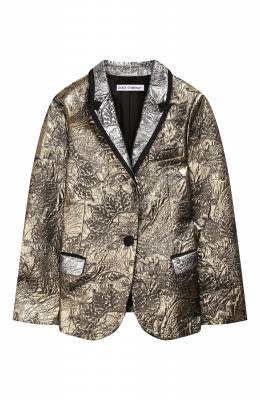 Жаккардовый жакет Dolce&Gabbana L51J54/HJMFM/8-14