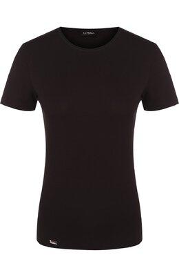 Приталенная футболка с круглым вырезом La Perla 0020323