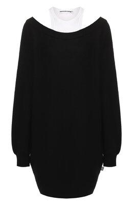 Шерстяное платье T By Alexander Wang 4KC1206012