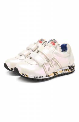 Кожаные кроссовки с застежками велькро Premiata Will Be LUCY V/1142/T0D