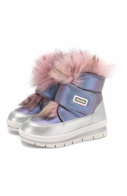 Утепленные ботинки Jog Dog 13025R/ZAFFIR0 LATEX/29-35