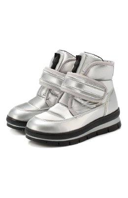 Утепленные ботинки Jog Dog 13024R/ZAFFIR0 FLASH/23-28
