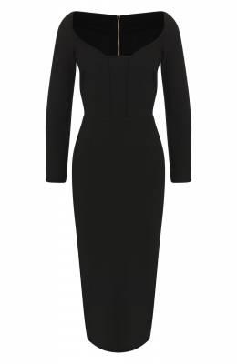 Приталенное платье-миди Roland Mouret PS19/S0510/F2196