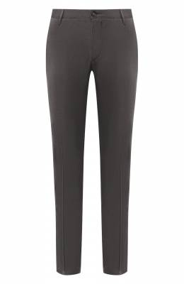 Хлопковые брюки Boss by Hugo Boss 50420060