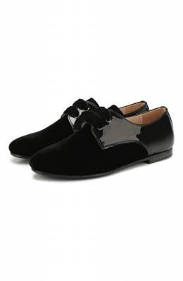 Текстильные туфли с кожаной отделкой Beberlis 20997/35-38