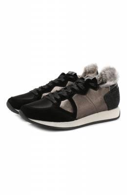 Комбинированные кроссовки Monaco Philippe Model MNLD SF04