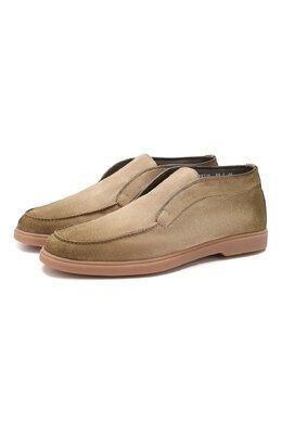 Замшевые ботинки Santoni MGYA16715TISAPMSC55