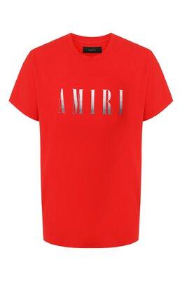 Хлопковая футболка Amiri S0M03337CJ