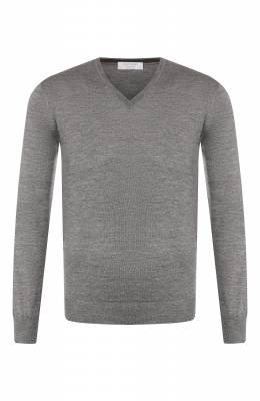 Пуловер из смеси шерсти и шелка Gran Sasso 57115/13190