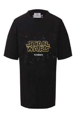 Хлопковая футболка Star Wars x Vetements Vetements USW21TS001 1600/W