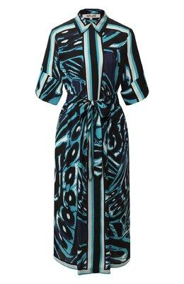 Платье с поясом Diane Von Furstenberg 13886DVF
