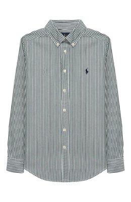 Хлопковая рубашка Ralph Lauren 323750006