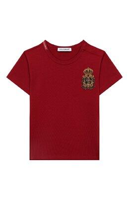Хлопковая футболка Dolce&Gabbana L1JT6S/G7VEF