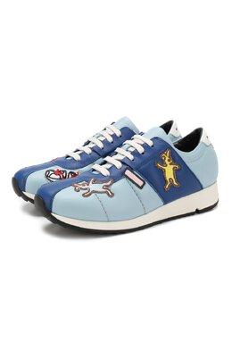 Кожаные кроссовки Marni 63313/36-41