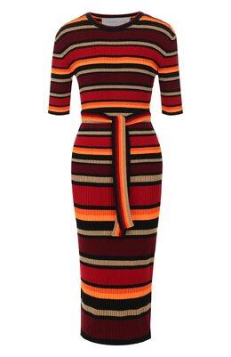 Платье с поясом Victoria, Victoria Beckham W2419KDR000324A